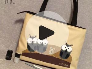 Клип, который вдохновил на новую сумку. Ярмарка Мастеров - ручная работа, handmade.