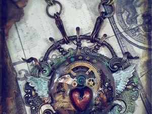 Смесь викторианства, этники и стимпанка в украшениях Luthien Thye. Ярмарка Мастеров - ручная работа, handmade.
