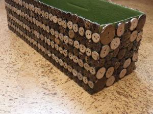 Коробка с кокосовыми пуговицами. Ярмарка Мастеров - ручная работа, handmade.
