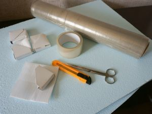 Как упаковать для отправки большую картину на холсте. Ярмарка Мастеров - ручная работа, handmade.