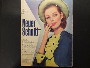 Журналы винтажные: Neuer Scnitt 1963/2. Ярмарка Мастеров - ручная работа, handmade.