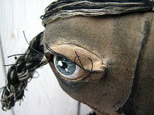 Делаем реалистичные глаза тряпичной кукле из обычной муки. Ярмарка Мастеров - ручная работа, handmade.