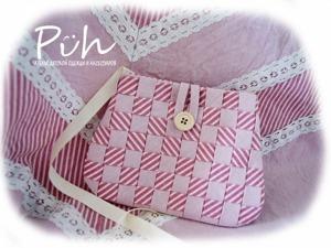 Шьем «плетеную» сумочку для девочки. Ярмарка Мастеров - ручная работа, handmade.