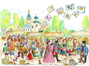 Эй, народ, расступись, покупай живопись! Широкая пасхальная ярмарка в разгаре!. Ярмарка Мастеров - ручная работа, handmade.
