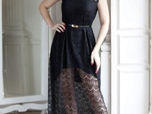 Аукцион на Эффектное разноуровневое платье! Старт 2500 руб.!. Ярмарка Мастеров - ручная работа, handmade.