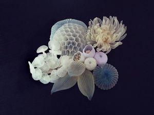 Невесомые скульптуры Mariko Kusumoto. Ярмарка Мастеров - ручная работа, handmade.