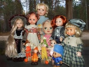 Куклят по осени считают!...Осенняя фотосессия моих игровых кукол. Ярмарка Мастеров - ручная работа, handmade.