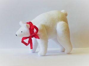 Шьем Белого Мишку своими руками. Ярмарка Мастеров - ручная работа, handmade.