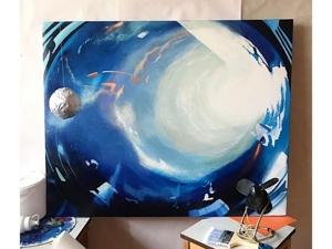 Картина космос. Ярмарка Мастеров - ручная работа, handmade.