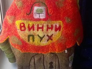 Валяем ночник «Домик Винни-Пуха». Ярмарка Мастеров - ручная работа, handmade.
