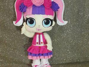 Создание куклы ЛОЛ Unicorn: 2 часть. Ярмарка Мастеров - ручная работа, handmade.