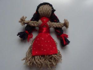Видео мастер-класс: делаем своими руками куклу-мотанку из пряжи. Ярмарка Мастеров - ручная работа, handmade.