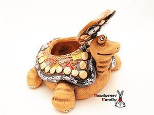 Мастер-Класс к 8 Марта: Черепаха-шкатулка. Ярмарка Мастеров - ручная работа, handmade.