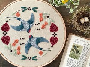 На стыке прошлого и настоящего: как британская вышивальщица возрождает культурные традиции. Ярмарка Мастеров - ручная работа, handmade.