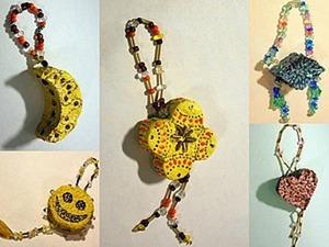 Елочные игрушки из папье-маше. Ярмарка Мастеров - ручная работа, handmade.