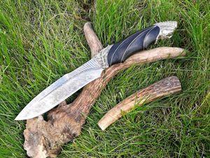 Авторский нож  «Индеец». Ярмарка Мастеров - ручная работа, handmade.