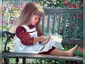 Волшебство вышивки. Часть 9: вышивка и дети. Ярмарка Мастеров - ручная работа, handmade.