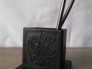 Делаем набор руководителя. Урок 2: Стакан для ручек и карандашей. Ярмарка Мастеров - ручная работа, handmade.