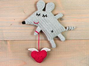Мастер-класс по вязанию «Сердце крючком». Ярмарка Мастеров - ручная работа, handmade.