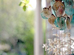Интересные идеи декора с морскими «сувенирами». Ярмарка Мастеров - ручная работа, handmade.