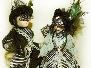 Мои новые куклы — вОроны Карл и Клара. Ярмарка Мастеров - ручная работа, handmade.