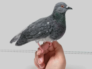 Felt Ornithology: Craftswoman Creates Birds That Seem To Be About To Fly. Livemaster - handmade