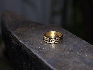 Кольцо из пятака, или кое-что из секретов деревенских кузнецов.. Ярмарка Мастеров - ручная работа, handmade.