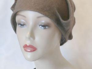 Как свалять зимнюю шляпку. Ярмарка Мастеров - ручная работа, handmade.