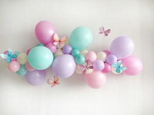 Гирлянда из воздушных шаров. Ярмарка Мастеров - ручная работа, handmade.