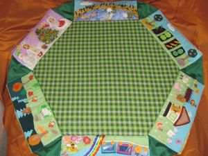 Мастер-класс: делаем развивающий коврик-трансформер. Часть 7. Ярмарка Мастеров - ручная работа, handmade.