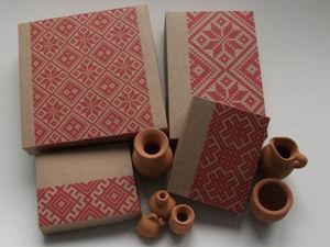 Делаем упаковку из крафт-бумаги в едином стиле. Ярмарка Мастеров - ручная работа, handmade.