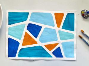 Мастер-класс 0+: Мозаика в технике СкотчАрт. Ярмарка Мастеров - ручная работа, handmade.
