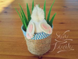 Создаем милейшего пасхального кролика. Ярмарка Мастеров - ручная работа, handmade.
