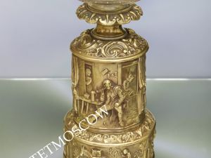 РАРИТЕТИЩЕ Лампа старинная антикварная бронза латунь 3. Ярмарка Мастеров - ручная работа, handmade.