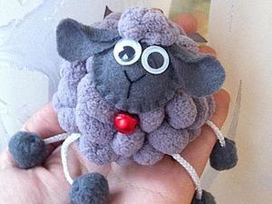 Шьем забавную малышку овечку. Ярмарка Мастеров - ручная работа, handmade.