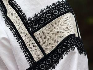 Вышивка черноузорных рубах воронежско-белгородского пограничья. Ярмарка Мастеров - ручная работа, handmade.