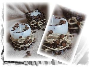 Мастер-Класс по изготовлению кофейных свечек. Ярмарка Мастеров - ручная работа, handmade.