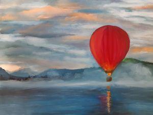 Полеты на воздушном шаре. Ярмарка Мастеров - ручная работа, handmade.