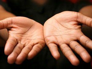 Hands of a Craftsman — His Main Tool. Livemaster - handmade