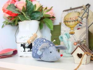 Шьем игольницу «Мышка». Ярмарка Мастеров - ручная работа, handmade.