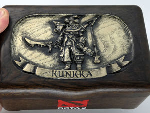 Dota 2 шкатулка видеообзор KUNKKA. Ярмарка Мастеров - ручная работа, handmade.