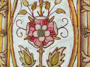Фрагмент старинной вышивки на церковном одеянии из коллекции  Mary Corbet. Ярмарка Мастеров - ручная работа, handmade.