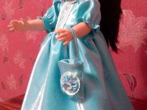 Платье для куклы из. Ярмарка Мастеров - ручная работа, handmade.