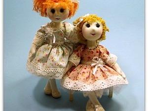 Все текстильные остатки &#8212&#x3B; в дело! Шьем текстильную каркасную куклу. Ярмарка Мастеров - ручная работа, handmade.