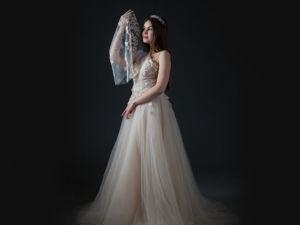 Небесная рапсодия для невесты. Ярмарка Мастеров - ручная работа, handmade.