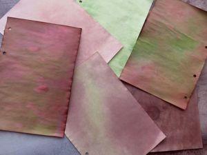 Как состарить бумагу? Тонируем морилкой, папоротником, эбеновым деревом. Ярмарка Мастеров - ручная работа, handmade.