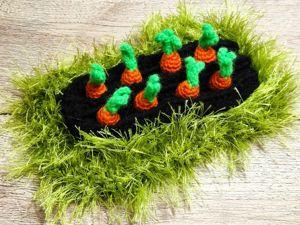 Делаем грядку для развивающих ковриков «Ферма». Ярмарка Мастеров - ручная работа, handmade.