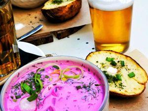 Литовский холодный борщ «шалтибарщай» .Еще рецепт.Ксения рекомендует. Ярмарка Мастеров - ручная работа, handmade.