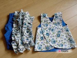 Шьем комплект для маленьких модниц «Летний сад». Ярмарка Мастеров - ручная работа, handmade.