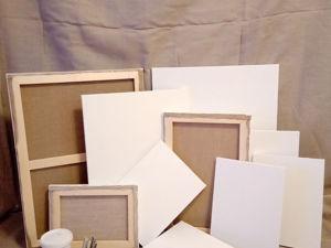 Детальный разбор материалов-основ для картин для покупателей. Ярмарка Мастеров - ручная работа, handmade.